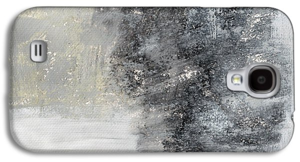 Wind In My Sails- Abstract Art Galaxy S4 Case by Linda Woods