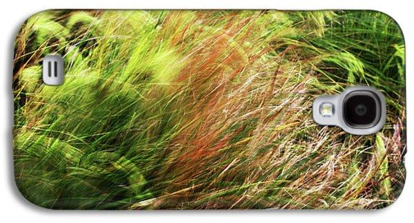 Windblown Grasses Galaxy S4 Case by Nareeta Martin
