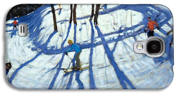 Winding Trail Morzine Galaxy S4 Case by Andrew Macara