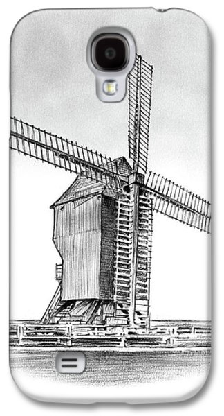 Windmill At Valmy Galaxy S4 Case