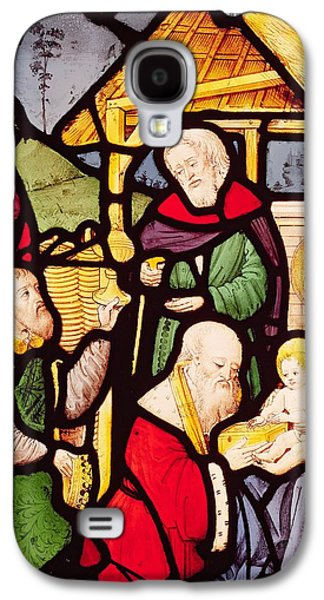 Window Depicting The Adoration Of The Magi Galaxy S4 Case