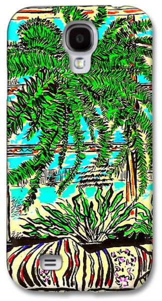 Window Loving Fern Galaxy S4 Case