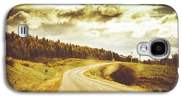 Window To A Rural Road Galaxy S4 Case by Jorgo Photography - Wall Art Gallery