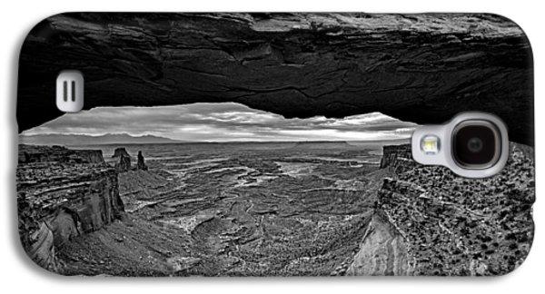 Window To The Canyon Below Galaxy S4 Case by Rick Berk