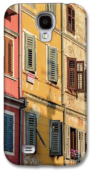 Windows Of Rovinj, Istria, Croatia Galaxy S4 Case