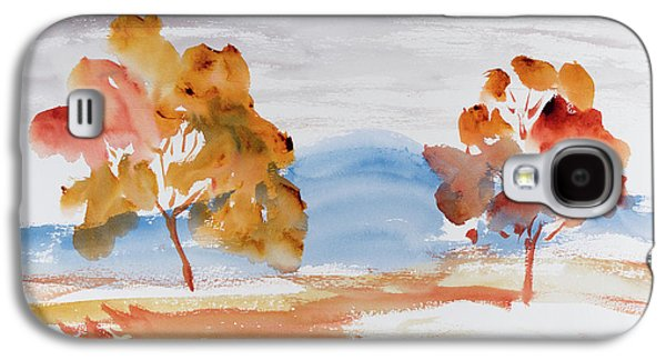 Windy Autumn Colours  Galaxy S4 Case