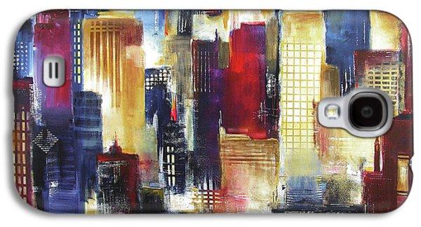 Windy City Nights Galaxy S4 Case