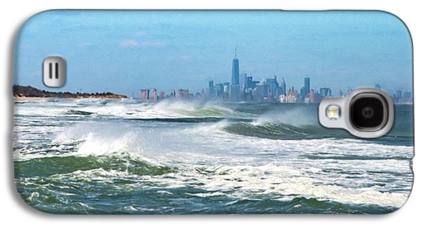 Windy View Of Nyc From Sandy Hook Nj Galaxy S4 Case
