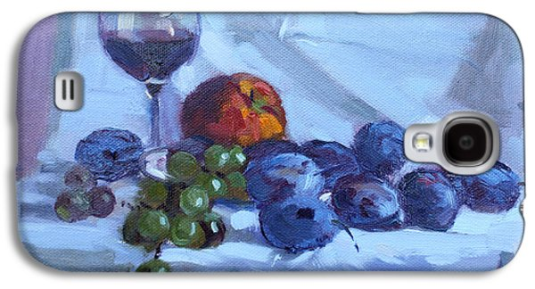 Wine And Fresh Fruits Galaxy S4 Case