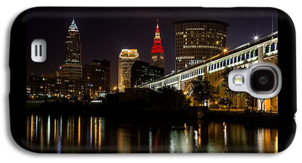 Wine And Gold In Cleveland Galaxy S4 Case
