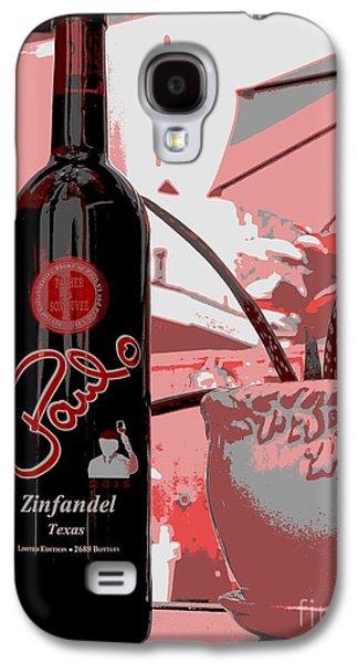 Wine Bottle Galaxy S4 Case