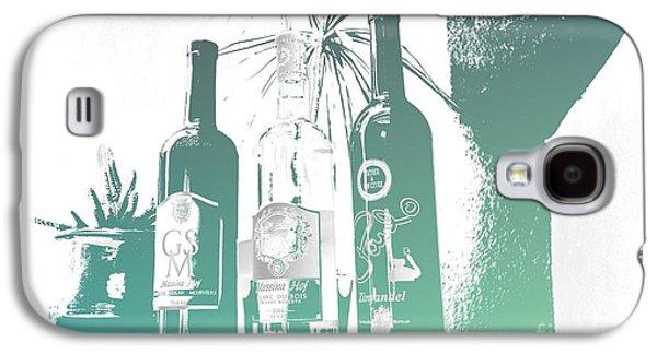 Wine Bottles Galaxy S4 Case