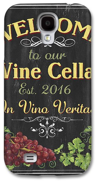 Wine Cellar Sign 1 Galaxy S4 Case