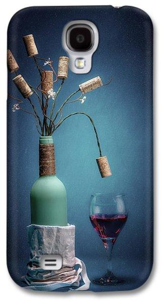 Wine Cork Bouquet Galaxy S4 Case