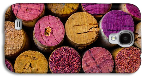 Wine Corks Close Up Galaxy S4 Case by Garry Gay