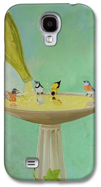 Wine Country Bird Bath Galaxy S4 Case