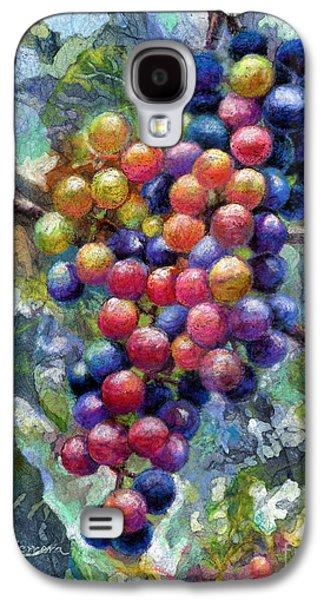 Wine Grapes Galaxy S4 Case by Hailey E Herrera