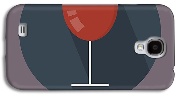 Wine Poster Print - It's Winesday Galaxy S4 Case