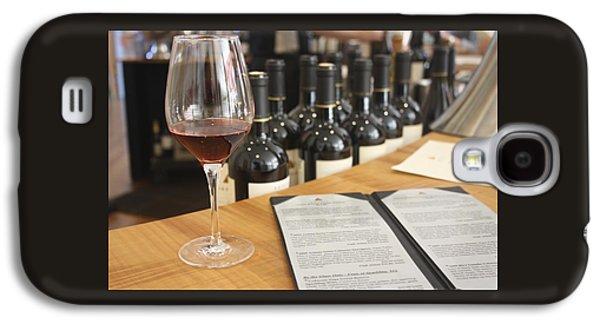Wine Tasting At Artesia Winery Napa Valley Galaxy S4 Case