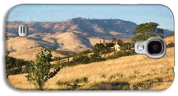 Winery At Ashland Oregon Galaxy S4 Case by Kenneth Roberts