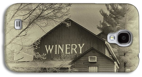 Winery In Sepia Galaxy S4 Case by Tom Gari Gallery-Three-Photography
