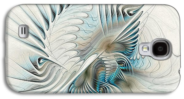 Wings Of An Angel Galaxy S4 Case by Deborah Benoit