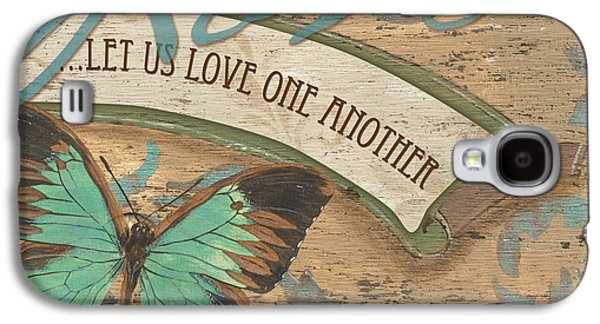 Wings Of Love Galaxy S4 Case