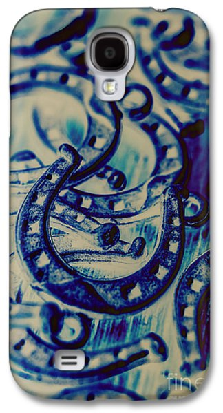 Winning Blue Country Tokens Galaxy S4 Case by Jorgo Photography - Wall Art Gallery