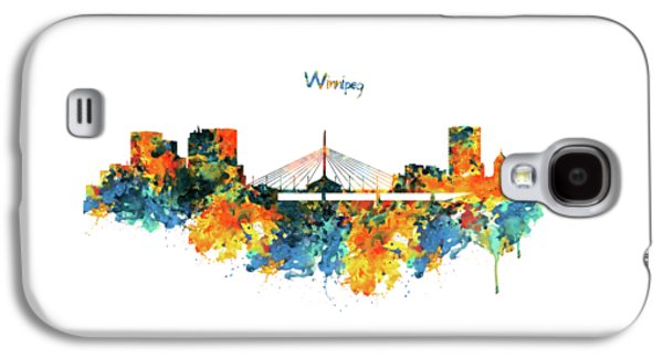 Winnipeg Skyline Galaxy S4 Case