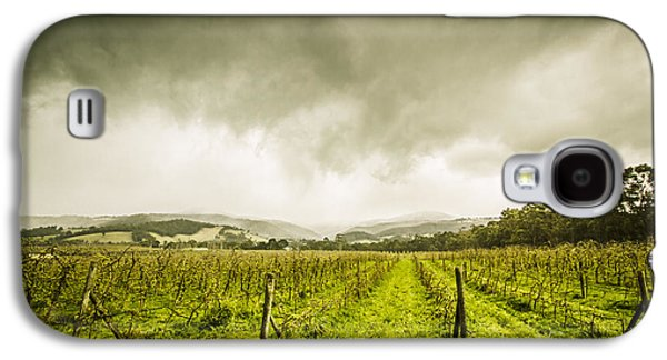 Winter Apple Orchard Galaxy S4 Case