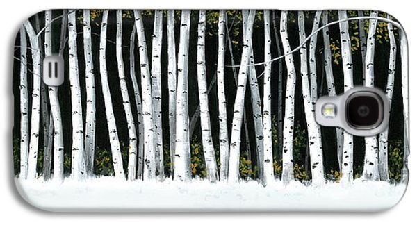 Winter Aspens II Galaxy S4 Case
