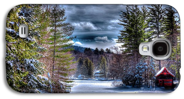 Galaxy S4 Case featuring the photograph Winter At The Boathouse by David Patterson