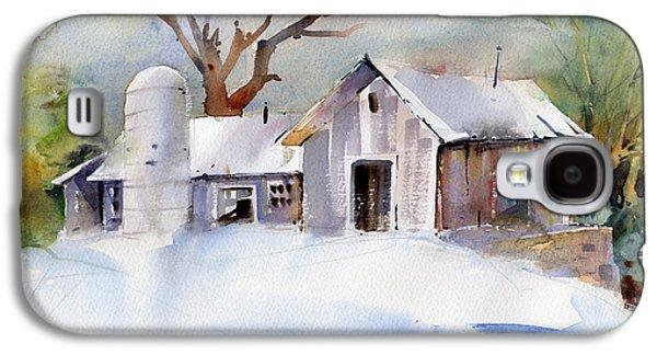 Winter Barn Galaxy S4 Case