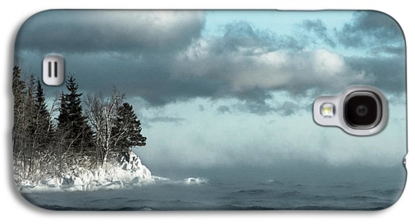 Winter Blues Galaxy S4 Case by Mary Amerman