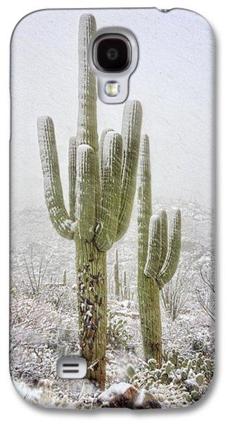Winter Day In The Desert Southwest  Galaxy S4 Case
