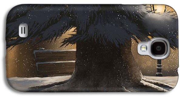Winter Day Galaxy S4 Case by Veronica Minozzi