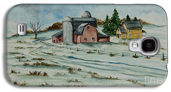 Winter Down On The Farm Galaxy S4 Case