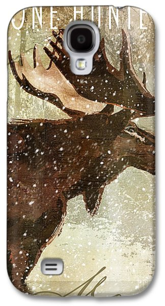 Winter Game Moose Galaxy S4 Case by Mindy Sommers