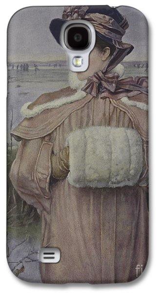 Winter Galaxy S4 Case by George Henry Boughton