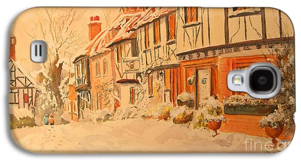 Winter In Chilham Kent Galaxy S4 Case by Beatrice Cloake