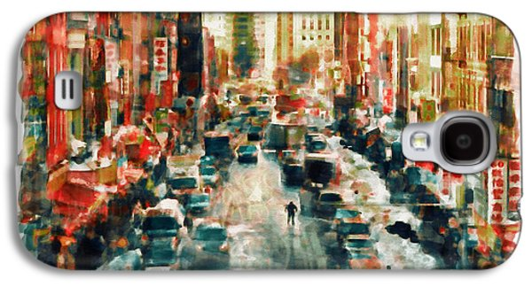 Winter In Chinatown - New York Galaxy S4 Case