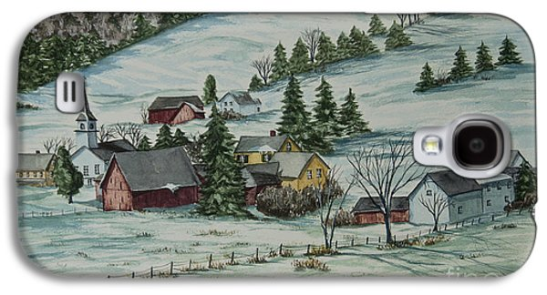 Winter In East Chatham Vermont Galaxy S4 Case