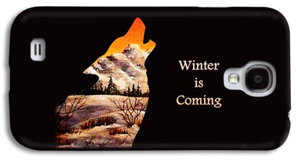 Winter Is Coming Galaxy S4 Case by Anastasiya Malakhova