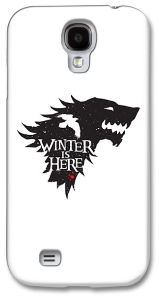 Winter Is Here Galaxy S4 Case