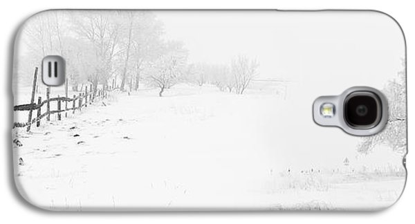 Winter Landscape - Let It Snow Galaxy S4 Case by Celestial Images