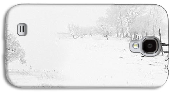 Winter Landscape - Pray For Snow Galaxy S4 Case by Celestial Images
