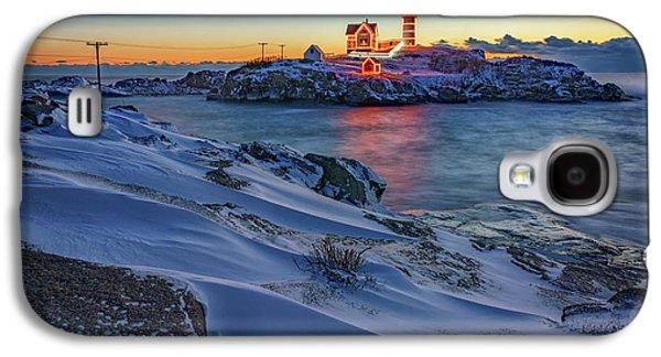 Winter Morning At Cape Neddick Galaxy S4 Case