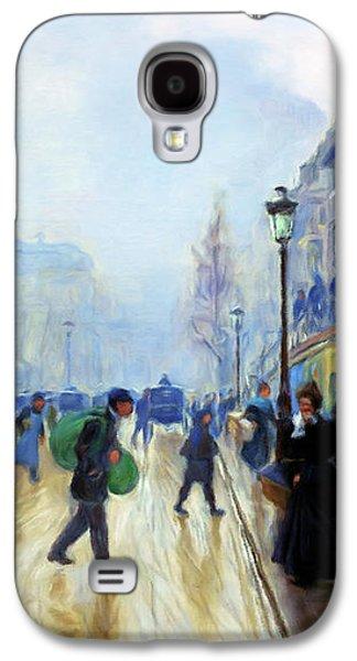 Winter On The Boulevard Galaxy S4 Case