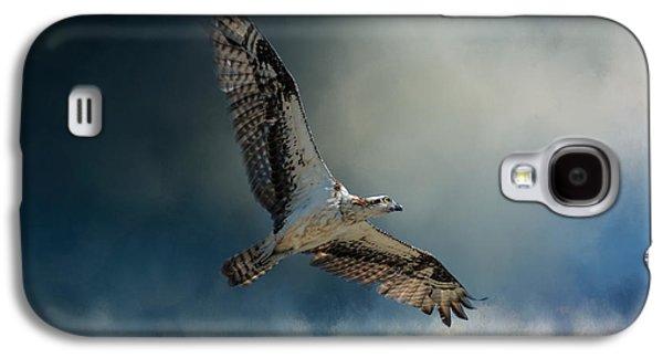 Winter Osprey Galaxy S4 Case by Jai Johnson