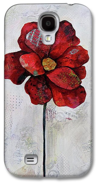 Winter Poppy II Galaxy S4 Case by Shadia Derbyshire